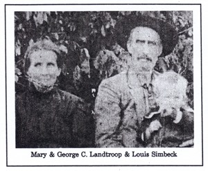 Mary and George C Landtroop