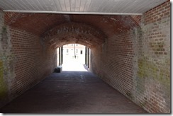 Fort Clinch tunnel