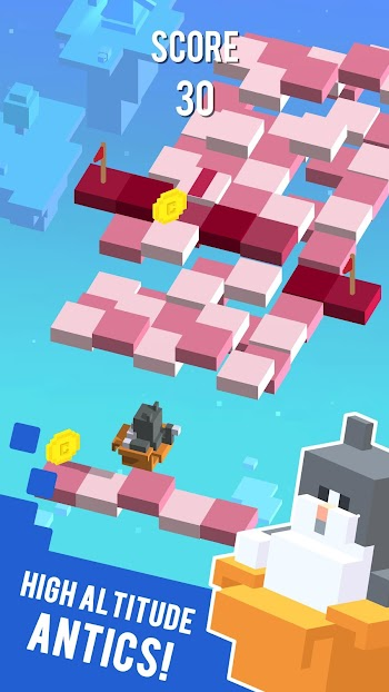 Download funny game Sky Hoppers free for Android devices