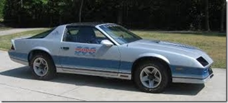 82 chevy pace car