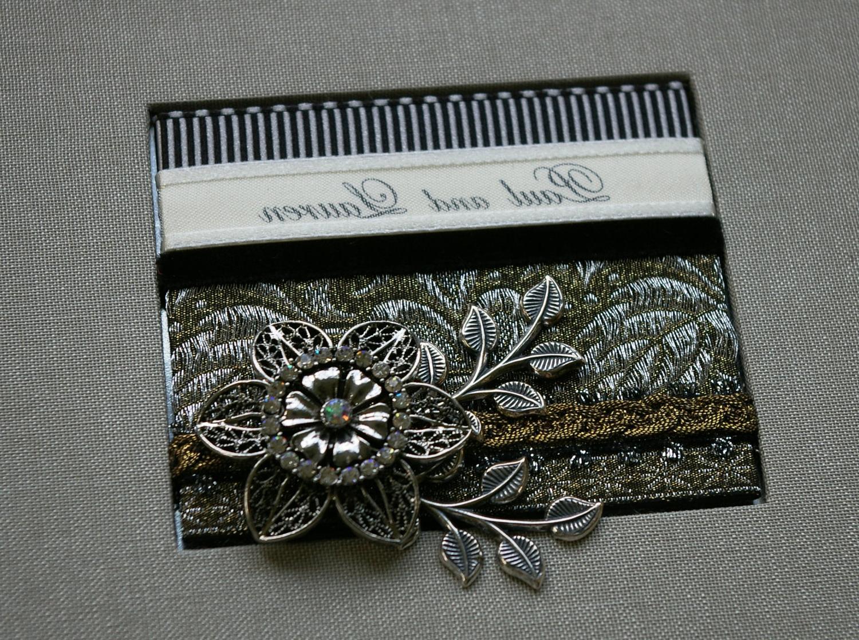 Wedding Album, Custom with your names, platinum grey gray, Photo, memorybook