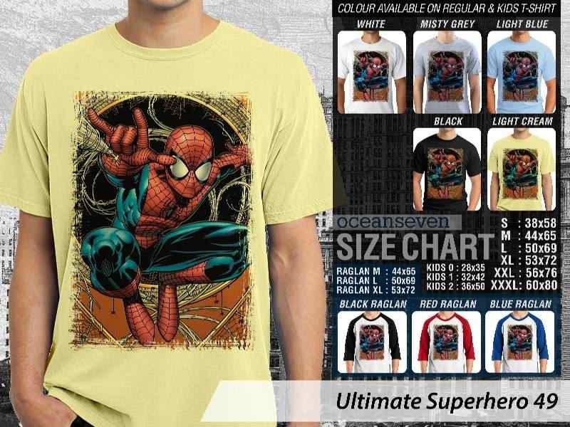 KAOS spiderman 49 Ultimate Superhero distro ocean seven