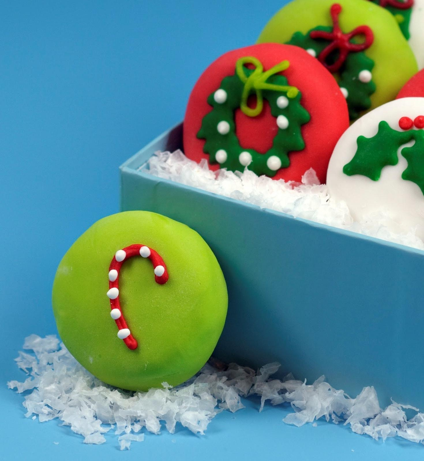 of Christmas Petits Fours,