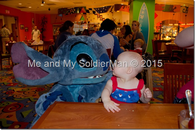 Me and My SoldierMan: Baby G Does Disney(land) Stitch