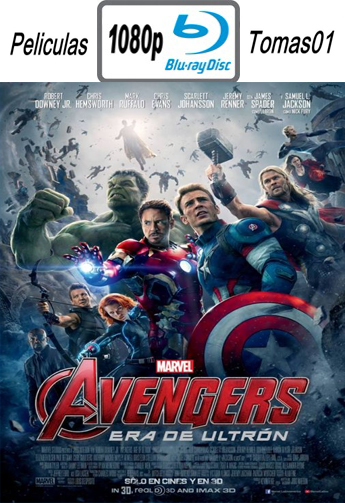 Avengers 2: Era de Ultrón (2015) [BRRip 1080p/Dual Latino-ingles]