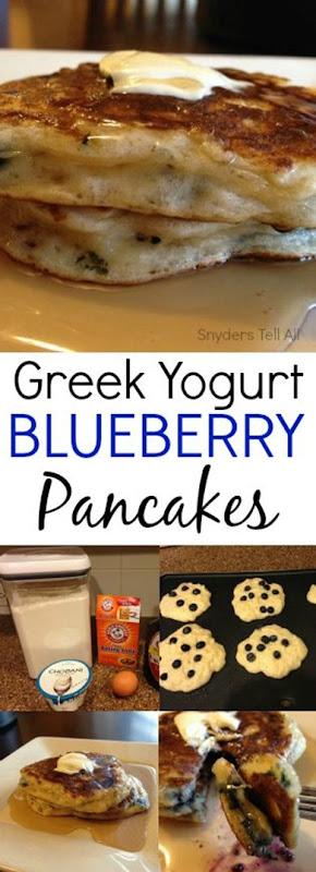 Blueberry Pancakes Pinterest