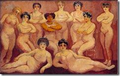 Kees van Dongen - Las luchadoras de Tabarin - 1907-8