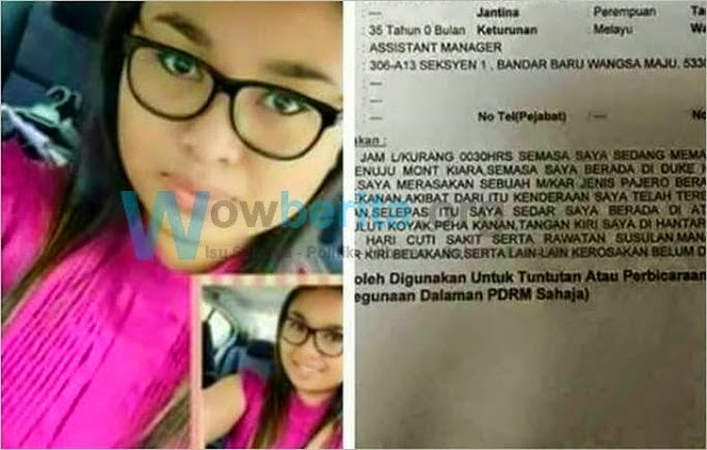 Inilah Wajah Sebenar Siti Noor Aini Gadis Pemandu Myvi FMC Penyebab Kemalangan Maut Di DUKE Kini Tersebar