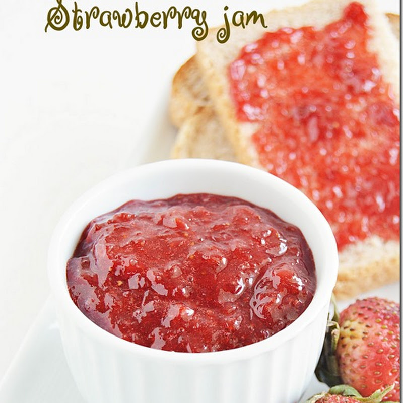 Homemade strawberry jam / Strawberry jam