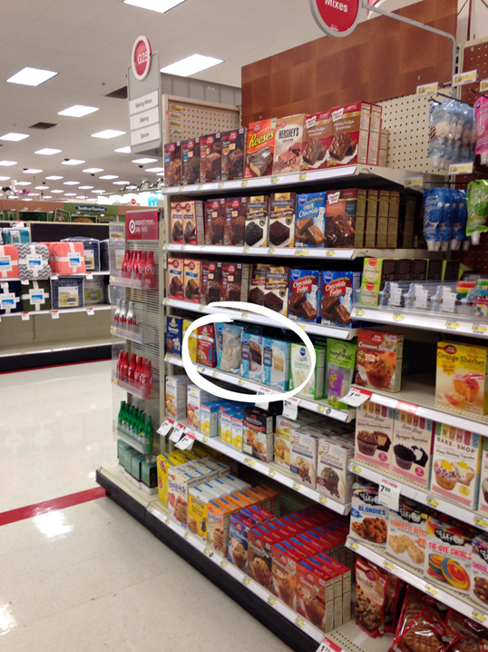 #PurelySimple Cake Mixes at Target