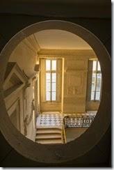 Petit Trianon esca d honneur vu du corridor de service Ôö¼-«C. Fouin_Ch de Versailles