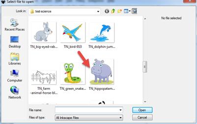 การใช้ Inkscape แปลงไฟล์ jpg เป็น svg