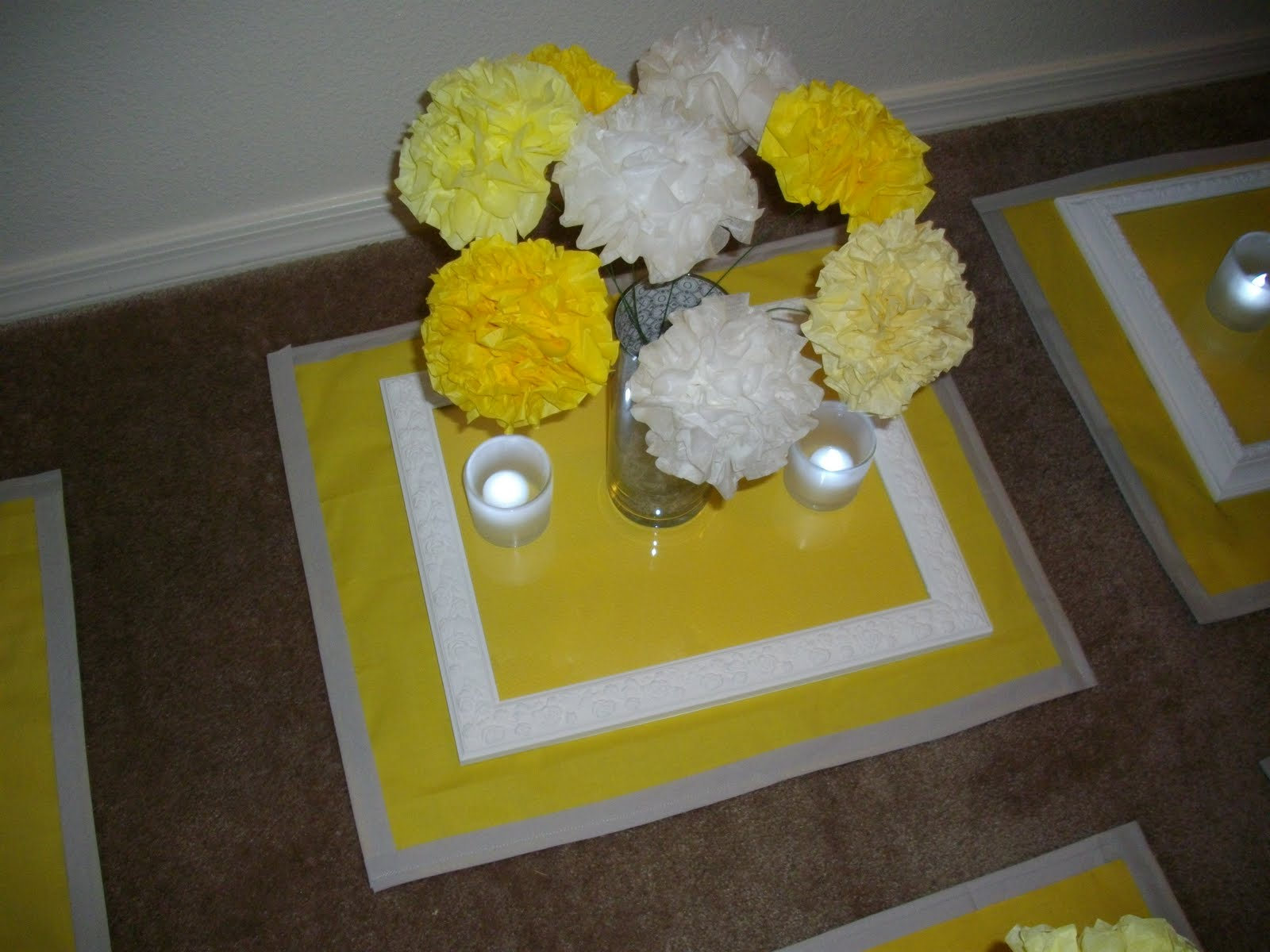 Grey and Yellow Wedding Close