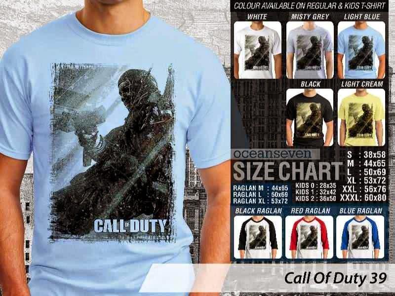 KAOS cod Call Of Duty 39 Game Series distro ocean seven