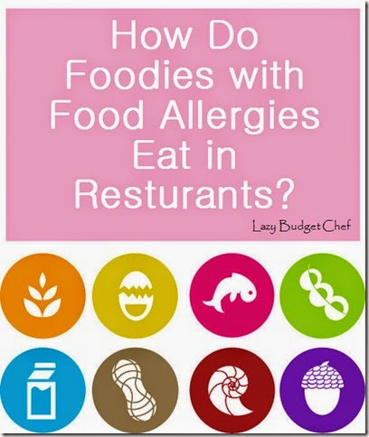 can food lovers with allergies still eat in restuarants