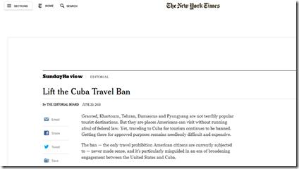 Editorial NYT 21 - 06 - 15