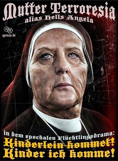 Merkel ante los refugiados