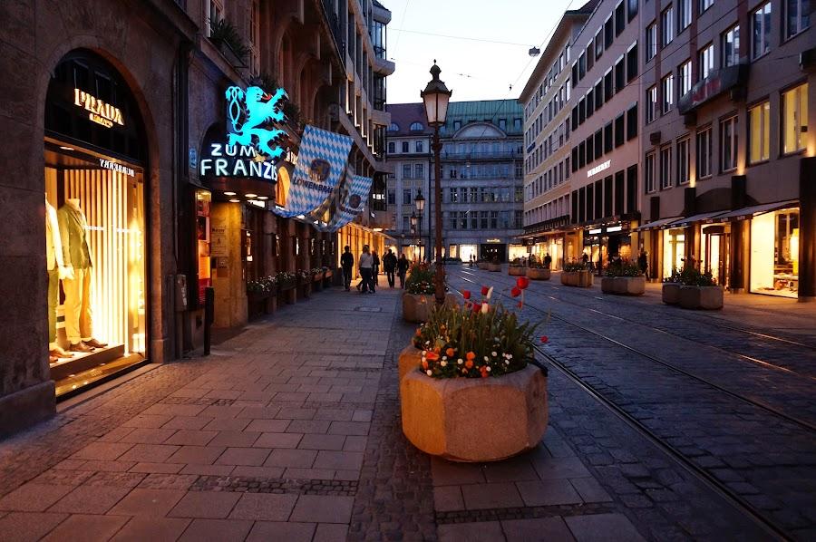 Элитные бутики Мюнхена