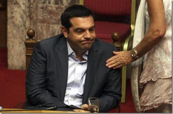 Alexis Tsipras renuncia