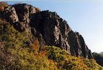 Little Stony Man Cliffs, Stony Man Mountain, Shenandoah National Park in Virginia.