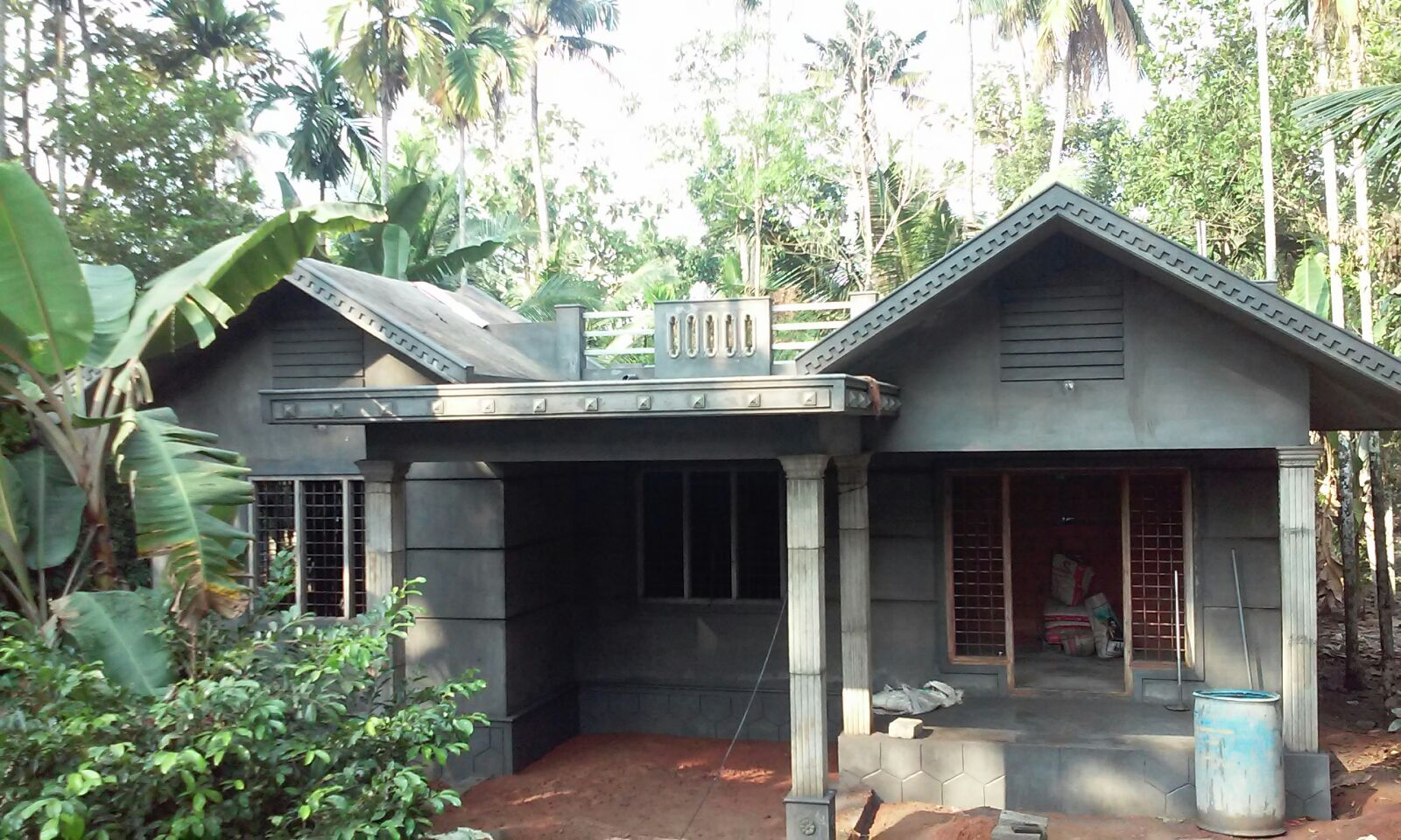 3 bhk low cost house at trissur building designers