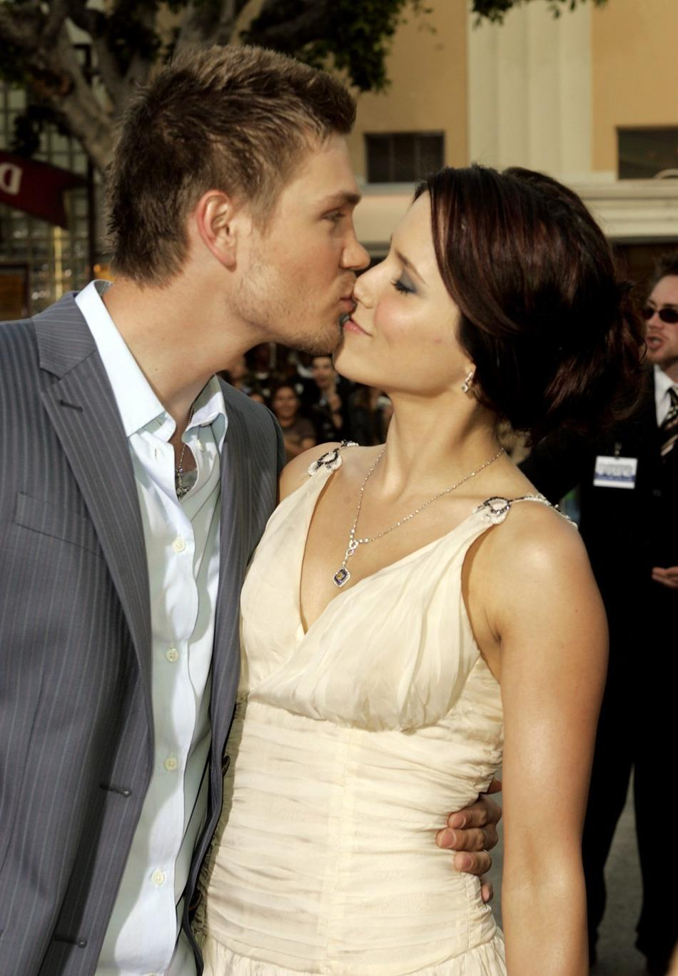 Sophia Bush and Chad Michael