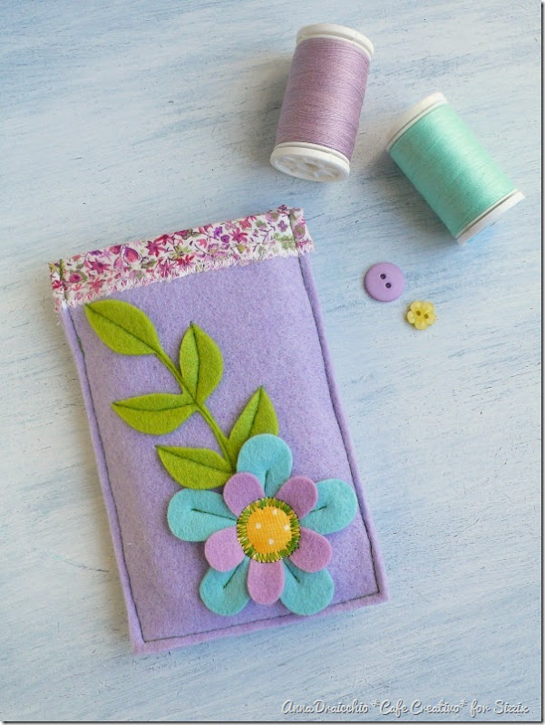 big shot sizzix-felt-flower-phone case-feltro-fiori-portacellulare (1)
