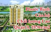Phước Bình, Cao ốc P. Phước Bình, Quận 9, HCM, Giá từ 15, 9 triệu/m2
