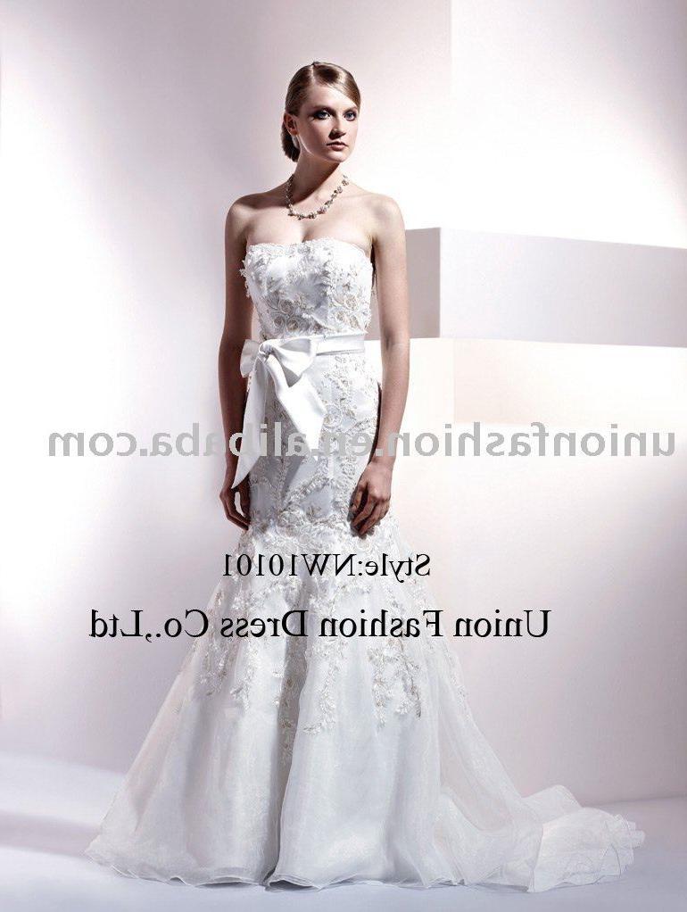 mermaid elegant Wedding Gown NW10101