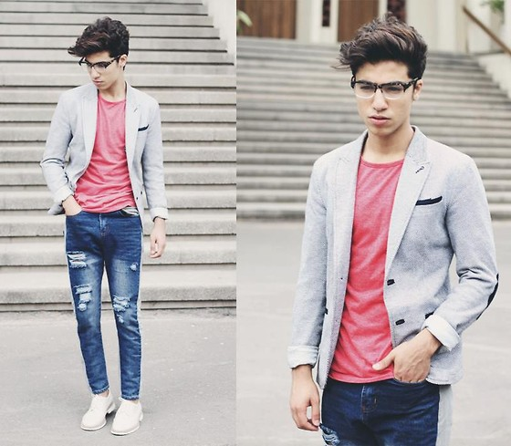 Chon ao vest nam dep de mac cung quan jeans  7
