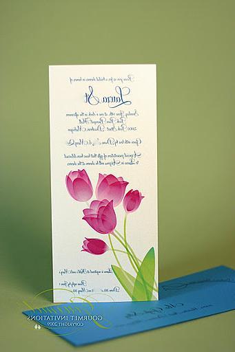 aqua blue wedding invitations