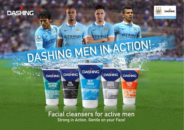 DASHING-Pencuci Muka Terbaik Untuk Lelaki Aktif