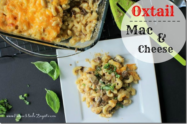Oxtail Mac and Cheese Main
