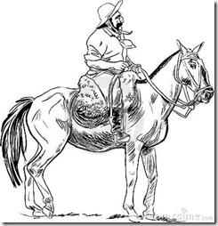234dibujos de gauchos  pintaryjugar (9)