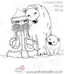 Polkadoodles - Polar Family