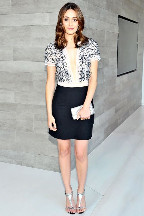 Emmy Rossum attended Vogues 120 Fetes