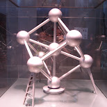 the atomium scale model in Brussels, Brussels, Belgium