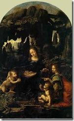 Leonardo_VergineDelleRocce_Louvre