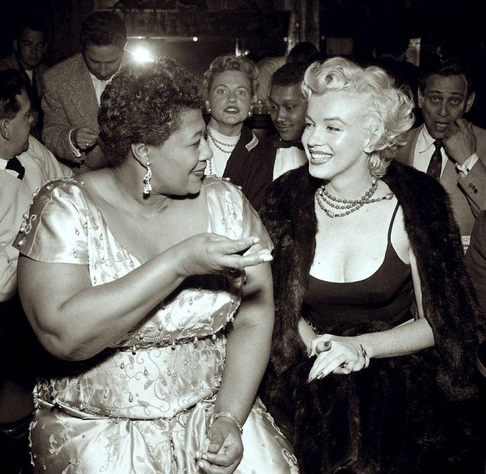 Marilyn Monroe e Ella Fitzgerald
