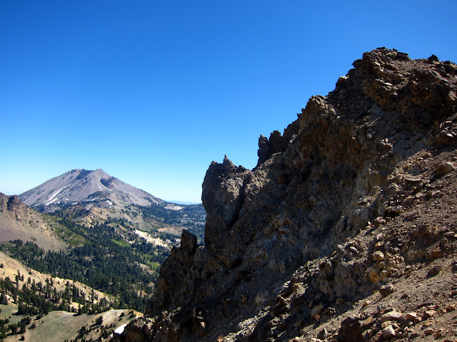 Summit of Brokeoff Mountain & Lassen Peak