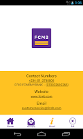 Screenshot of FcmbMobile by FCMB