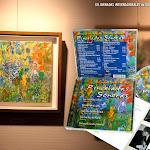 """Cuadro pintado por Mariángeles Sánchez Benimeli, que le gustaba firmar en determinadas actividades como Zechnas Selegna. Es una composición musical hecha con colores y fue portada del último cd de la compositora """"Pinceladas Sonoras"""" donde diferentes instrumentos interpretaban su música. Le acompañaron en esta aventura Luis Fernández Castelló, Clarinete Sib, Antonio Galera Lopez, Piano, Josep Lluís Galiana, Saxofón Soprano y Alto, José Luis Ruiz Del Puerto, guitarra y la propia Mariangeles, también a la guitarra."""