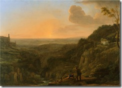 A_view_of_the_Roman_Campagna_from_Tivoli,_evening_(1644-5);_Claude_Gellée,_called_Le_Lorrain