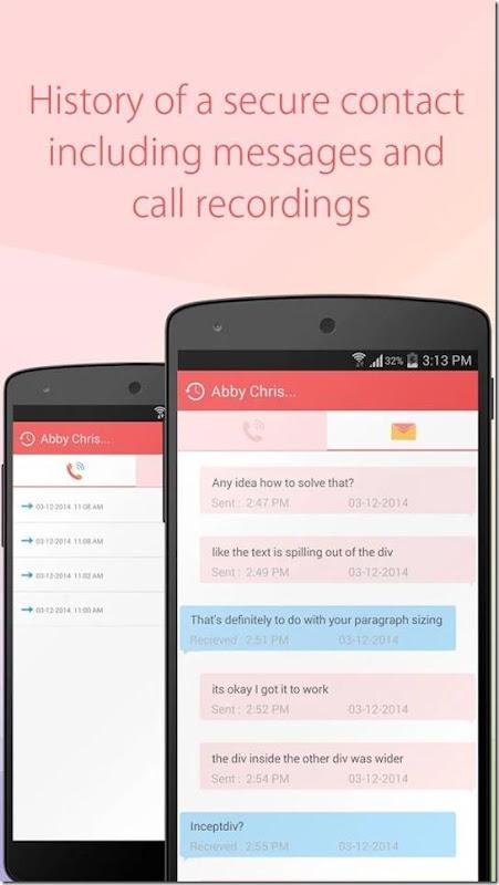 cara hide contact dan sms tanpa perlu menghapusnya