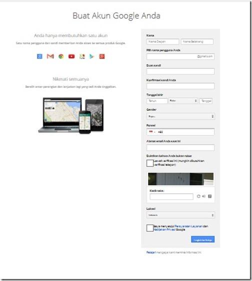 cara membuat blog dengan blogspot bagi pemula