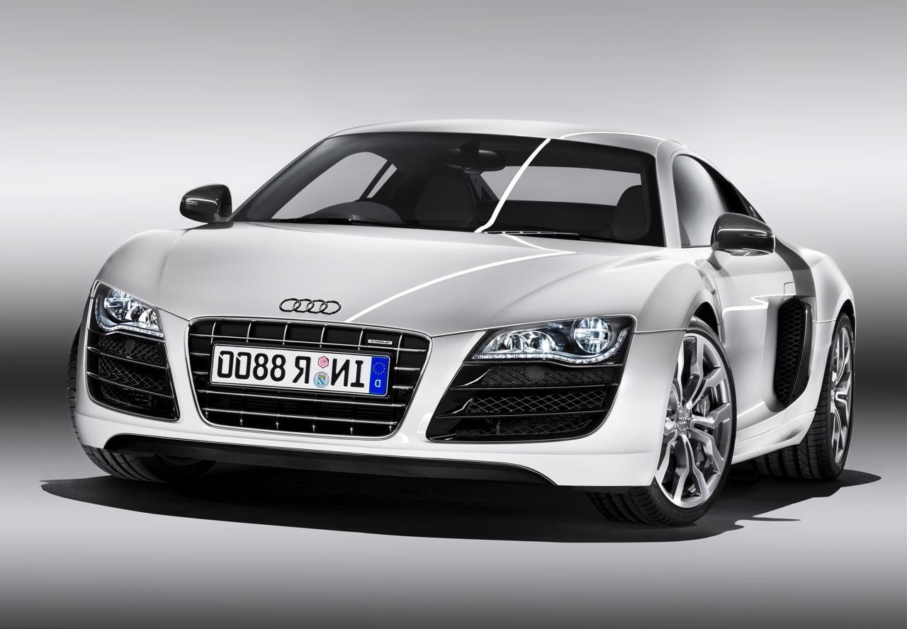 Audi r8 52 fsi front pic HD