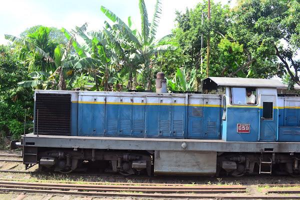 Старый локомотив, Шри Ланка