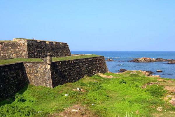 форт, океан, галле