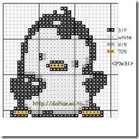Pingüinos punto d cruz (4)