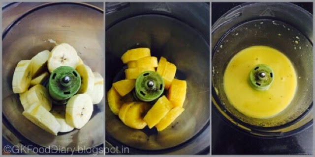 Steamed Nendran Banana Mash for Babies | Baby Food 5